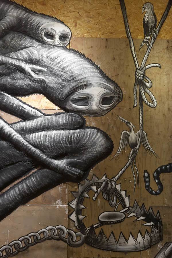 "Photos from Phlegm's ""The Bestiary"" @  Howard Griffin Gallery: jux_phlegm10.jpg"