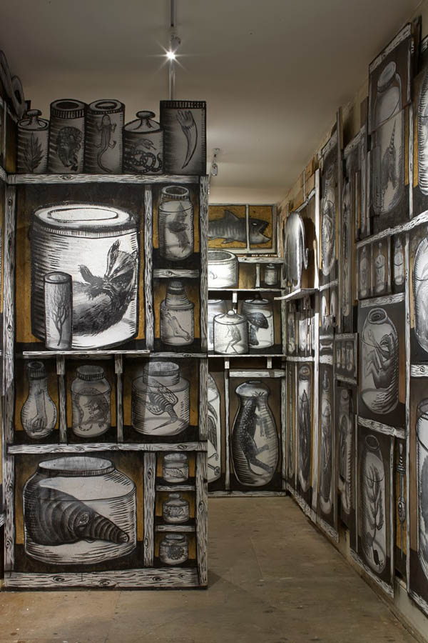 "Photos from Phlegm's ""The Bestiary"" @  Howard Griffin Gallery: jux_phlegm13.jpg"