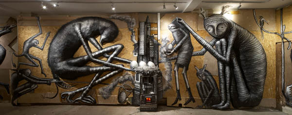 "Photos from Phlegm's ""The B"