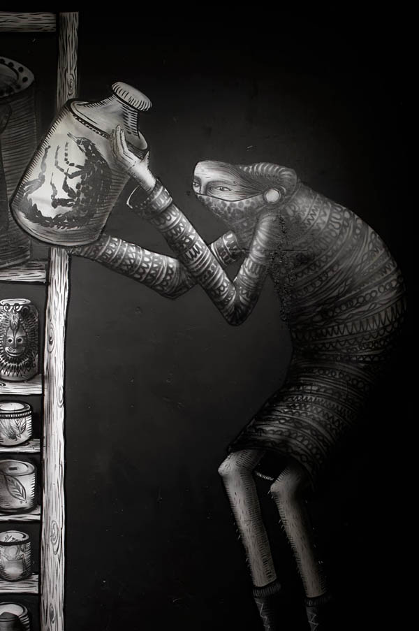 "Photos from Phlegm's ""The Bestiary"" @  Howard Griffin Gallery: jux_phlegm5.jpg"