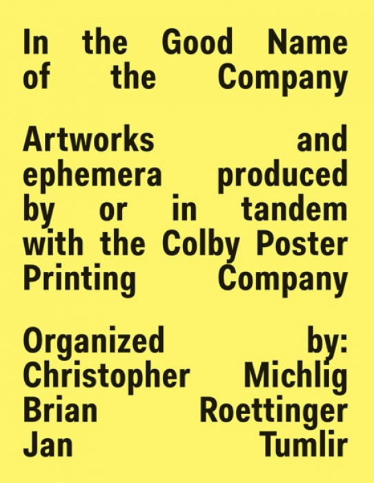 "New Book: ""In the Good Name of the Company,"" Colby Printing Company in focus: 700.jpg"