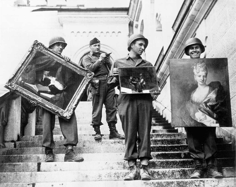 The Real Monuments Men: Rorimer_at_Neuschwanstein.jpg