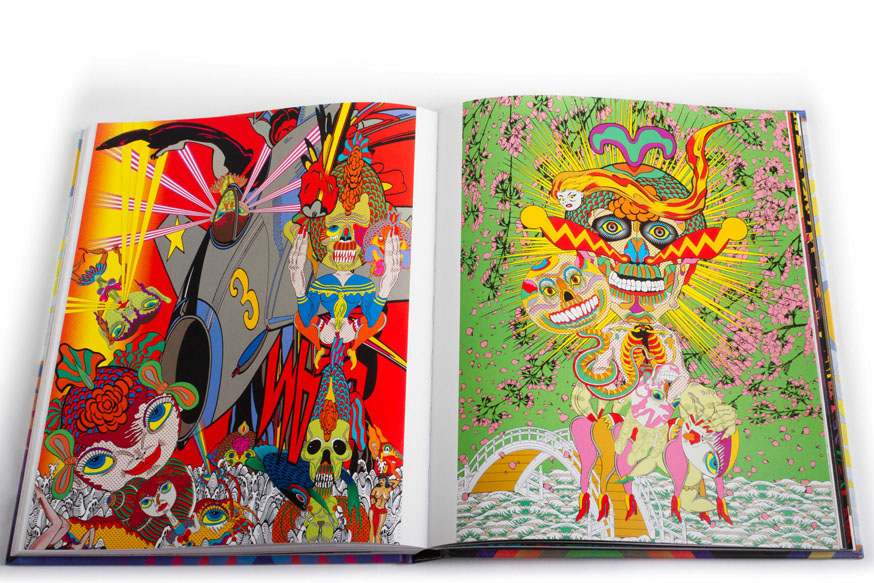 "Now In Our Webshop: ""Juxtapoz Psychedelic"" Book: PsychBook-10.jpg"