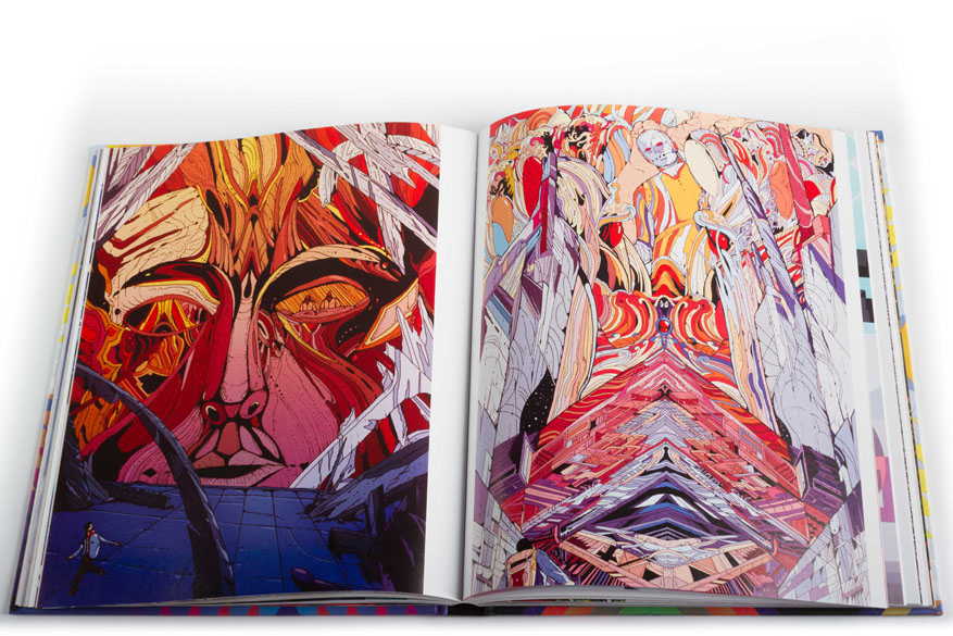 "Now In Our Webshop: ""Juxtapoz Psychedelic"" Book: PsychBook-12.jpg"