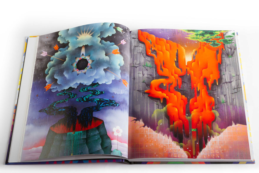 "Now In Our Webshop: ""Juxtapoz Psychedelic"" Book: PsychBook-4.jpg"