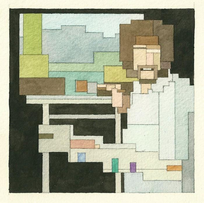Adam Lister's 8-bit Watercolors: 8bit-bob-ross.jpg