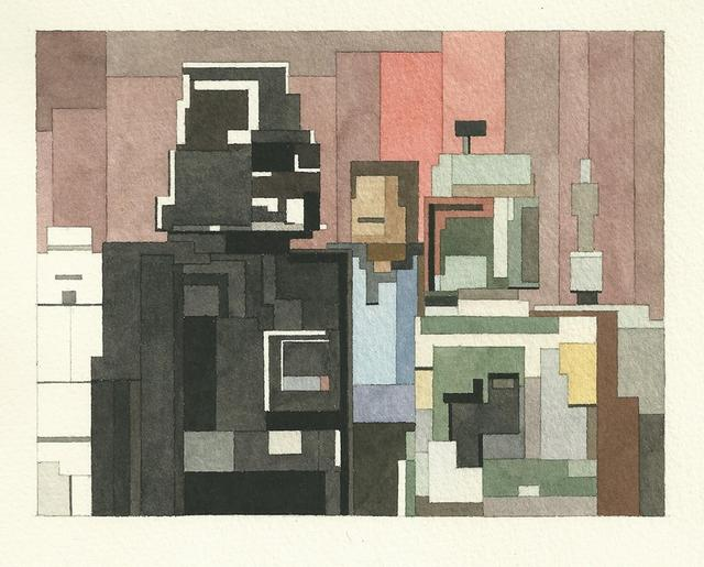 Adam Lister's 8-bit Watercolors: 8bit-empire-strikes-back.jpg
