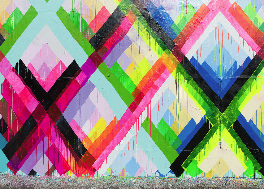 Maya Hayuk's Finished Mural on Houston & Bowery Wall: Screen shot 2014-02-10 at 12.46.17 PM.png