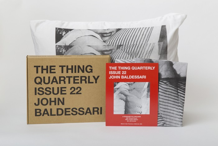 The Thing Quarterly, Issue 22: John Baldessari: baldessari_product_1.jpg