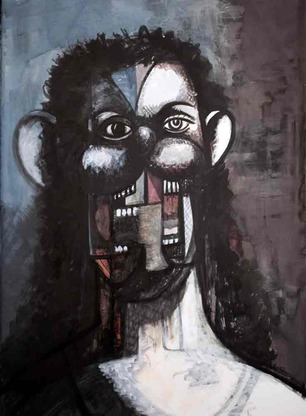 "George Condo ""Ink Drawings"" @ Skarstedt Gallery, London: GeorgeCondo-03-thumb-307x416-75486.jpg"