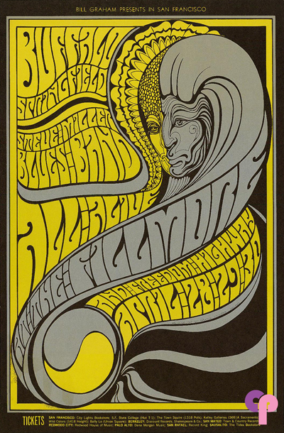 Psychedelic 1960s: The Poster Art of Wes Wilson: BG61-2wm.jpg