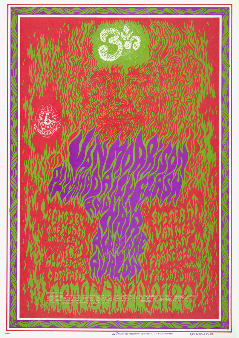 Psychedelic 1960s: The Poster Art of Wes Wilson: FD-88-Ohm.jpg