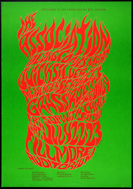 Psychedelic 1960s: The Poster Art of Wes Wilson: Wes-082.jpg