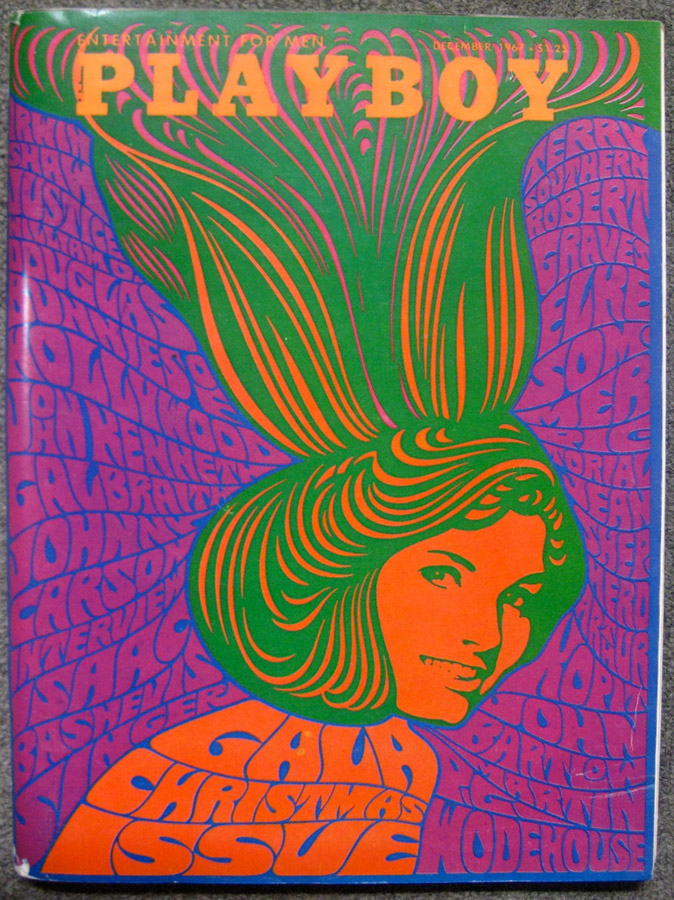 Psychedelic 1960s: The Poster Art of Wes Wilson: playboydecember1967.jpg