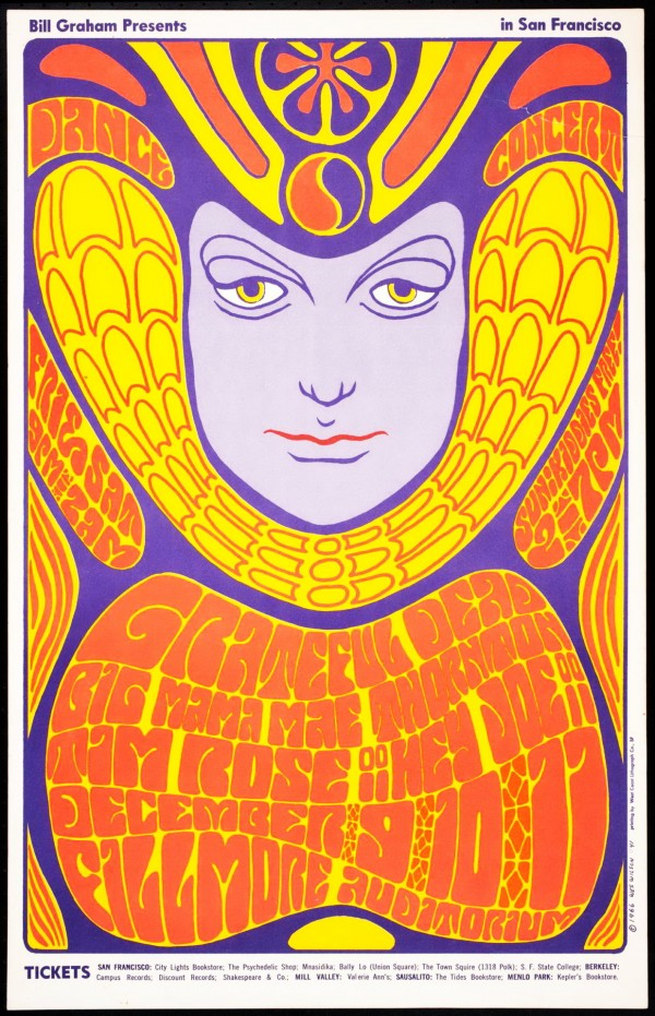 Psychedelic 1960s: The Poster Art of Wes Wilson: wes-wilson-e1343360354410.jpeg