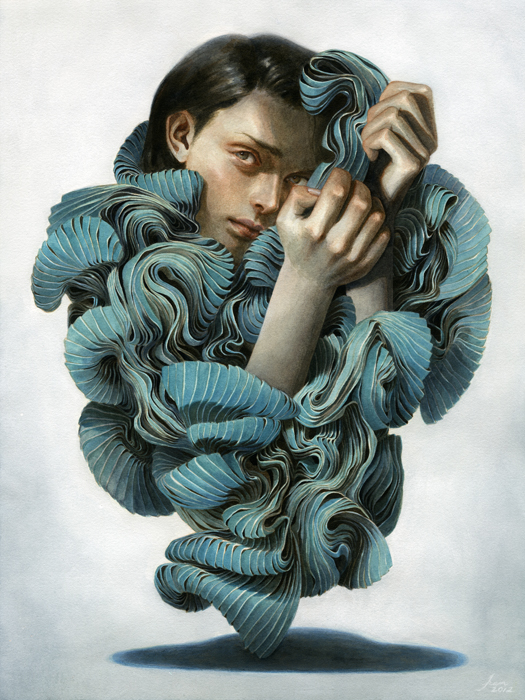 Tran Nguyen's Dreamscape Works: enveloped_between_a_pleated_thought.jpg