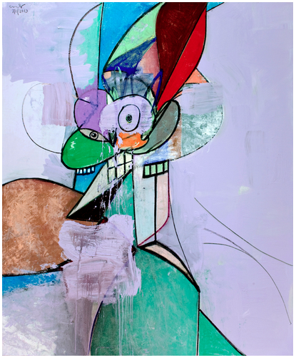 "George Condo ""Headspace"" @ Simon Lee Gallery, London: Screen shot 2014-02-13 at 8.58.54 AM.png"