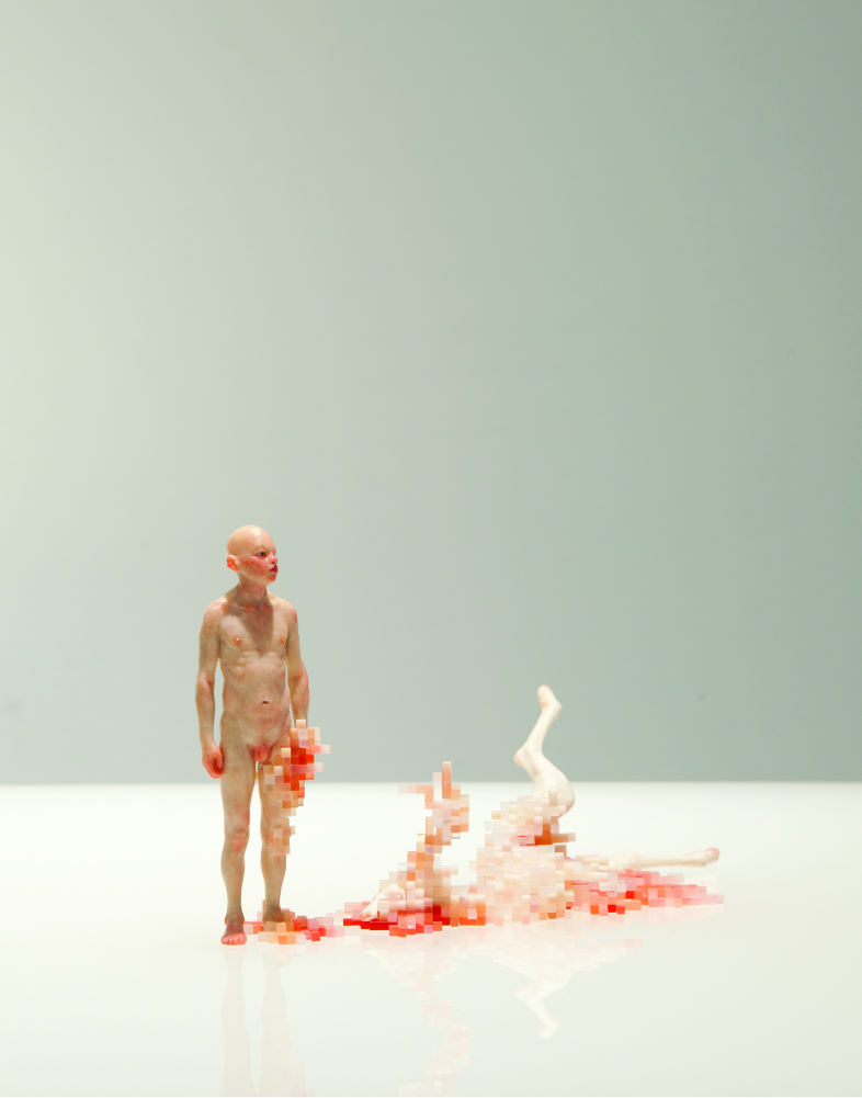 The Disturbing Sculptures of Dongwook Lee: tumblr_n0ug321how1r0i205o1_1280.jpg