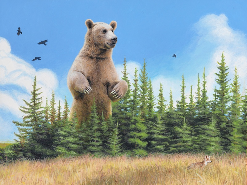 "Josh Keyes ""The Far Side of the World—Old Ones"", Part 1: The Call 1.jpg"