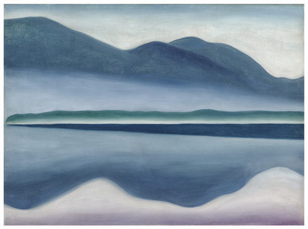 Modern Nature: Georgia O'Keeffe and Lake George @ the De Young Museum: LakeGeorge.jpg