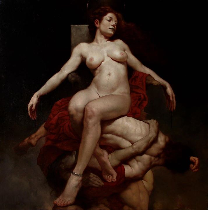 Baroque style paintings from Roberto Ferri: tumblr_m8p8lhGVCL1qdhfhho1_1280.jpg