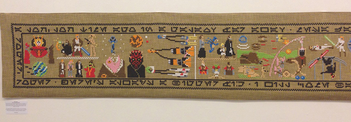 A 30 foot Star Wars Tapestry by Aled Lewis: AledLewisCoruscantTapestry2.jpg