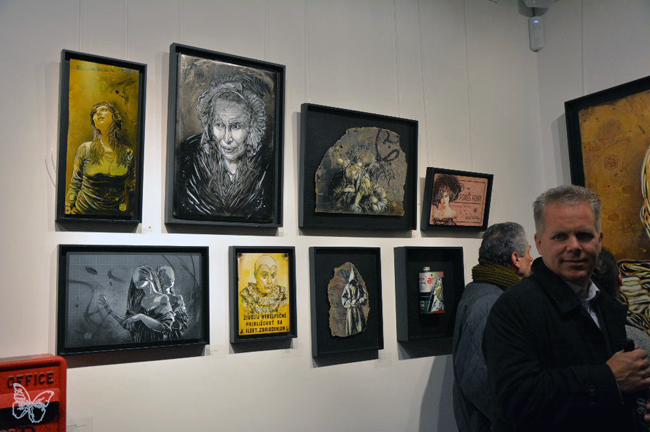 "C215 ""Back to Black"" @ Stolenspace Gallery, London: Screen shot 2014-02-18 at 9.04.58 AM.png"