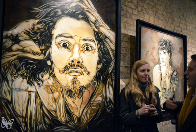 "C215 ""Back to Black"" @ Stolenspace Gallery, London: Screen shot 2014-02-18 at 9.05.23 AM.png"