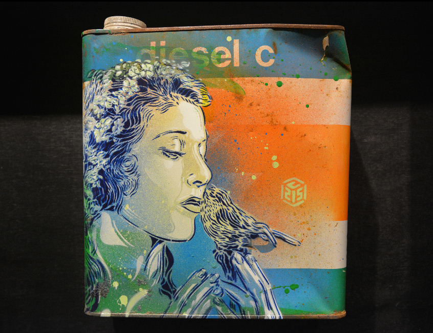 "C215 ""Back to Black"" @ Stolenspace Gallery, London: Screen shot 2014-02-18 at 9.05.42 AM.png"