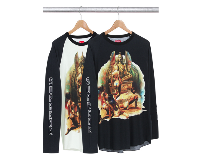 Boris Vallejo x Supreme Spring/Summer 2014 Capsule Collection: 3-boris supreme.png