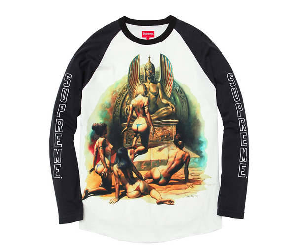 Boris Vallejo x Supreme Spring/Summer 2014 Capsule Collection: 4-boris supreme.png