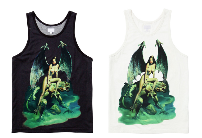 Boris Vallejo x Supreme Spring/Summer 2014 Capsule Collection: 5-boris supreme.png