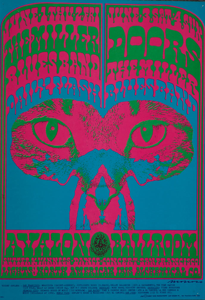 Psychedelic 1960s: The Poster Art of Victor Moscoso: 4-Victor.jpg