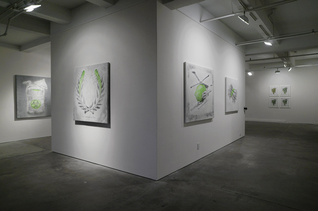 "Ludo ""Fruit of the Doom"" @ Jonathan LeVine Gallery, NYC: ludo_fruitofthedoom_feb2014levineNY_3.jpg"