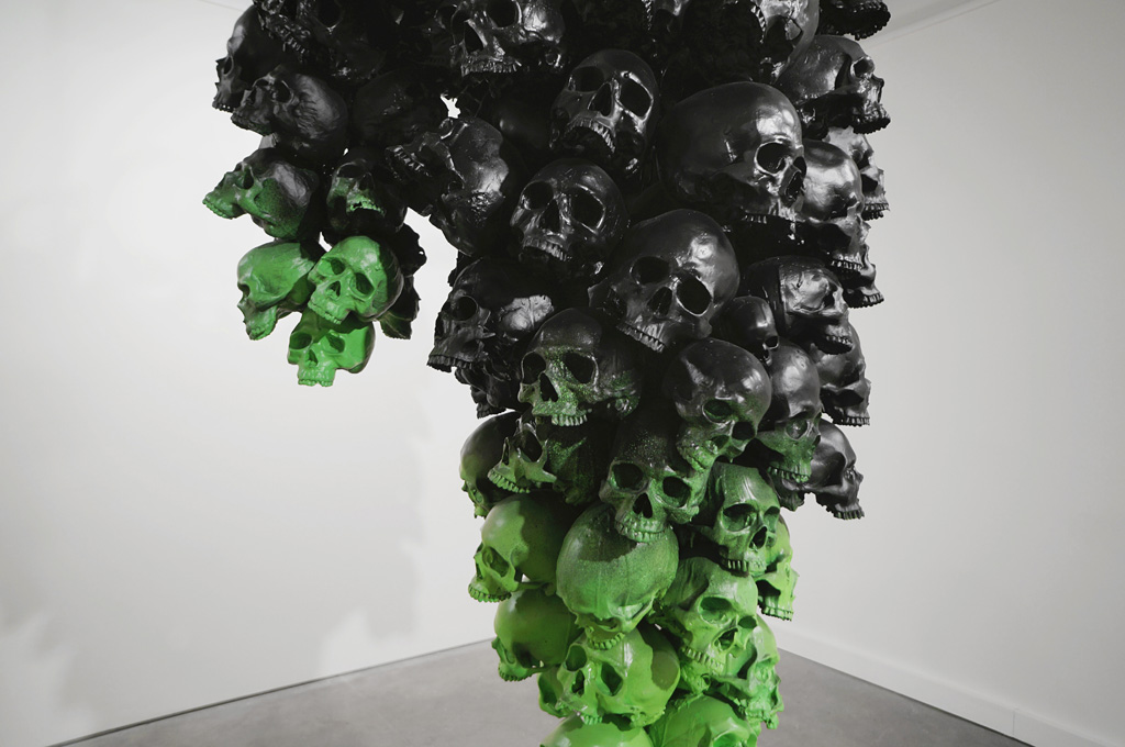 "Ludo ""Fruit of the Doom"" @ Jonathan LeVine Gallery, NYC: ludo_fruitofthedoom_feb2014levineNY_6.jpg"