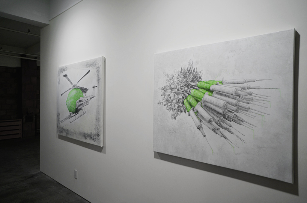 "Ludo ""Fruit of the Doom"" @ Jonathan LeVine Gallery, NYC: ludo_fruitofthedoom_feb2014levineNY_7.jpg"