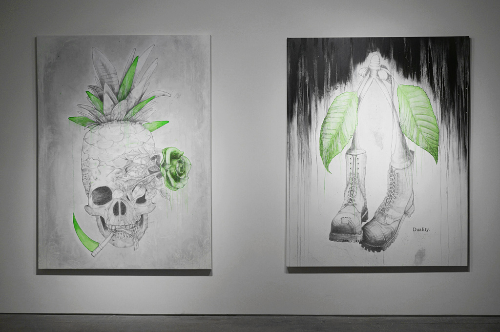 "Ludo ""Fruit of the Doom"" @ Jonathan LeVine Gallery, NYC: ludo_fruitofthedoom_feb2014levineNY_9.jpg"