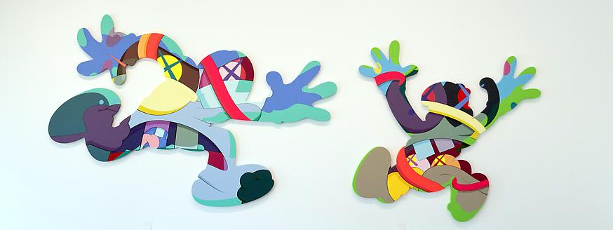 "KAWS ""Play Your Part"" @ Galeria Javier Lopez, Madrid: Chase_1__22.jpg"