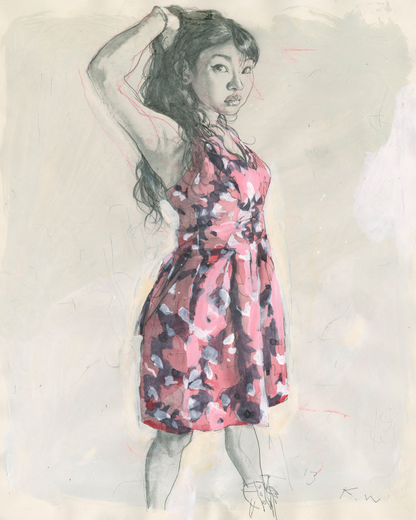 Drawings by Kent Williams: Juxtapoz-KentWilliams02.png