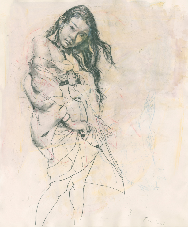 Drawings by Kent Williams: Juxtapoz-KentWilliams04.png