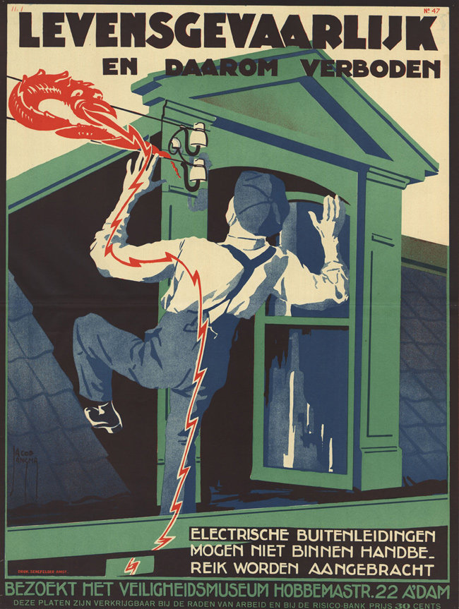 Vintage Dutch Safety Posters: 1925-Jacob-Jansma-3.jpg