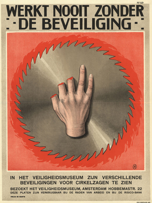 Vintage Dutch Safety Posters: 1928-Herman-Heyenbrock2.jpg