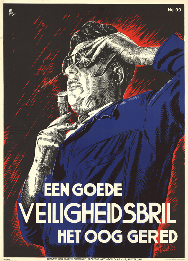 Vintage Dutch Safety Posters: 1939-W-Poll.jpg