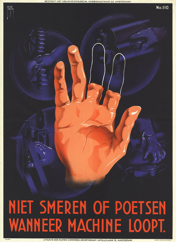 Vintage Dutch Safety Posters: 1940-Jacob-Jansma-2.jpg