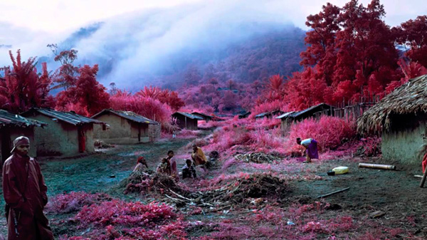"Using infrared film to capture ""The Enclave"" by Richard Mosse: juxtapoz_Richard_Mosse10.jpg"