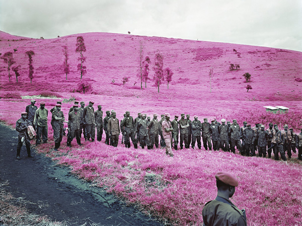 "Using infrared film to capture ""The Enclave"" by Richard Mosse: juxtapoz_Richard_Mosse4.jpg"