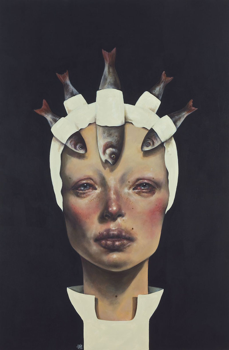 Paintings by Iranian Artist Afarin Sajedi: Afarin-Sajedi_02.jpg