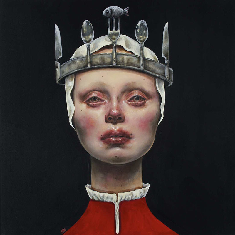 Paintings by Iranian Artist Afarin Sajedi: Afarin-Sajedi_04.jpg