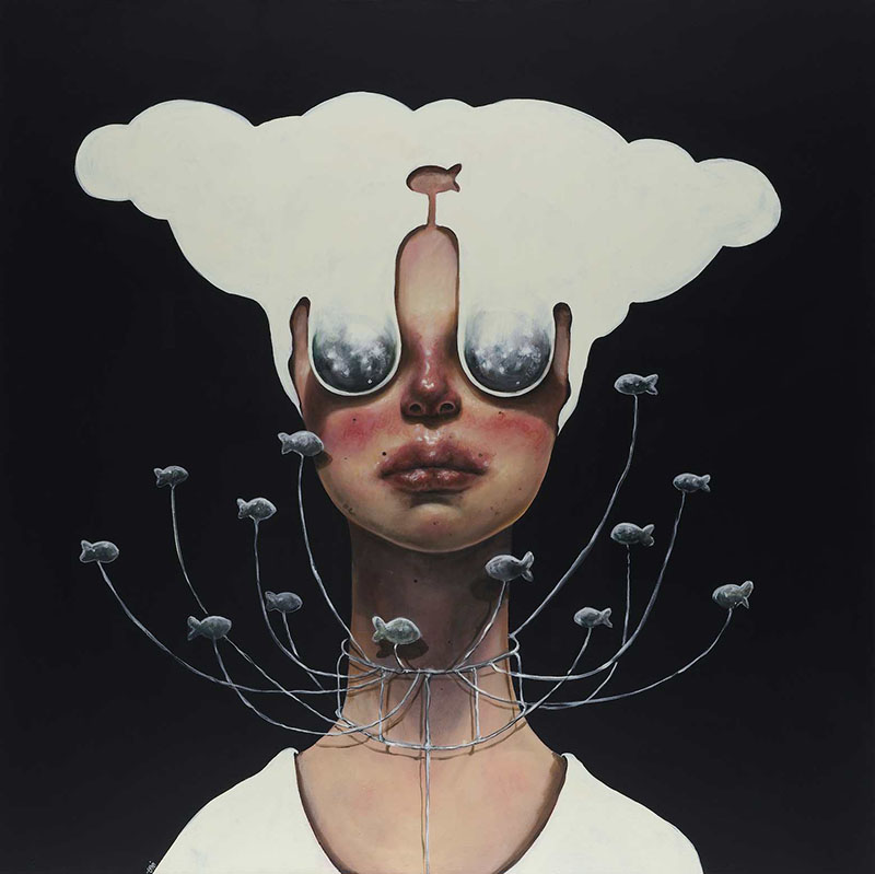 Paintings by Iranian Artist Afarin Sajedi: Afarin-Sajedi_08.jpg