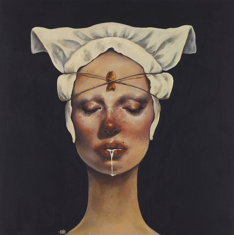 Paintings by Iranian Artist Afarin Sajedi: Afarin-Sajedi_09.jpg